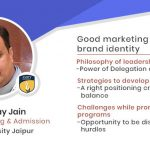 Amity University Jaipur: Mr. Akshay Jain, Director, Marketing & Admission