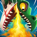 Hungry Dragon APK MOD v3.6 (Diamantes/Dinero infinito)