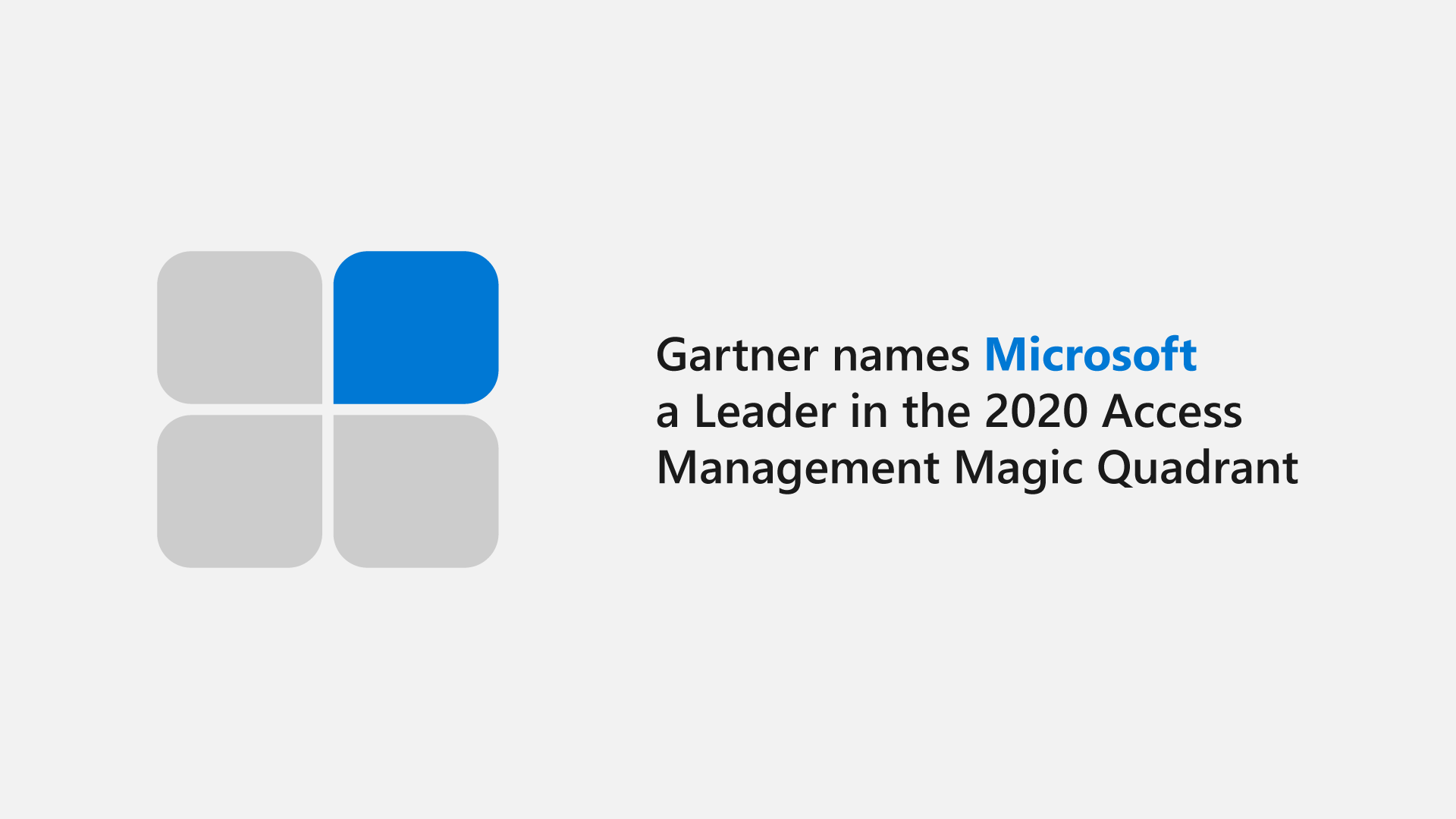 "Microsoft Azure Active Directory again a ""Leader"" in Gartner Magic Quadrant for Access Management, Cloud Pocket 365"
