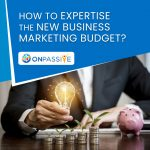 How To Expertise The New Business Marketing Budget - ONPASSIVE