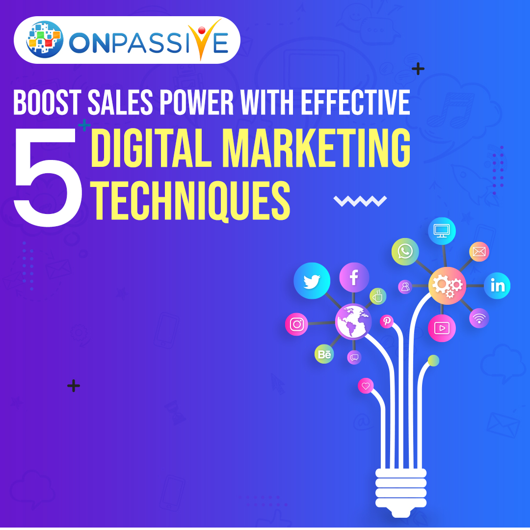 Boost Sales Power with Effective 5 Digital Marketing Techniques, Cloud Pocket 365