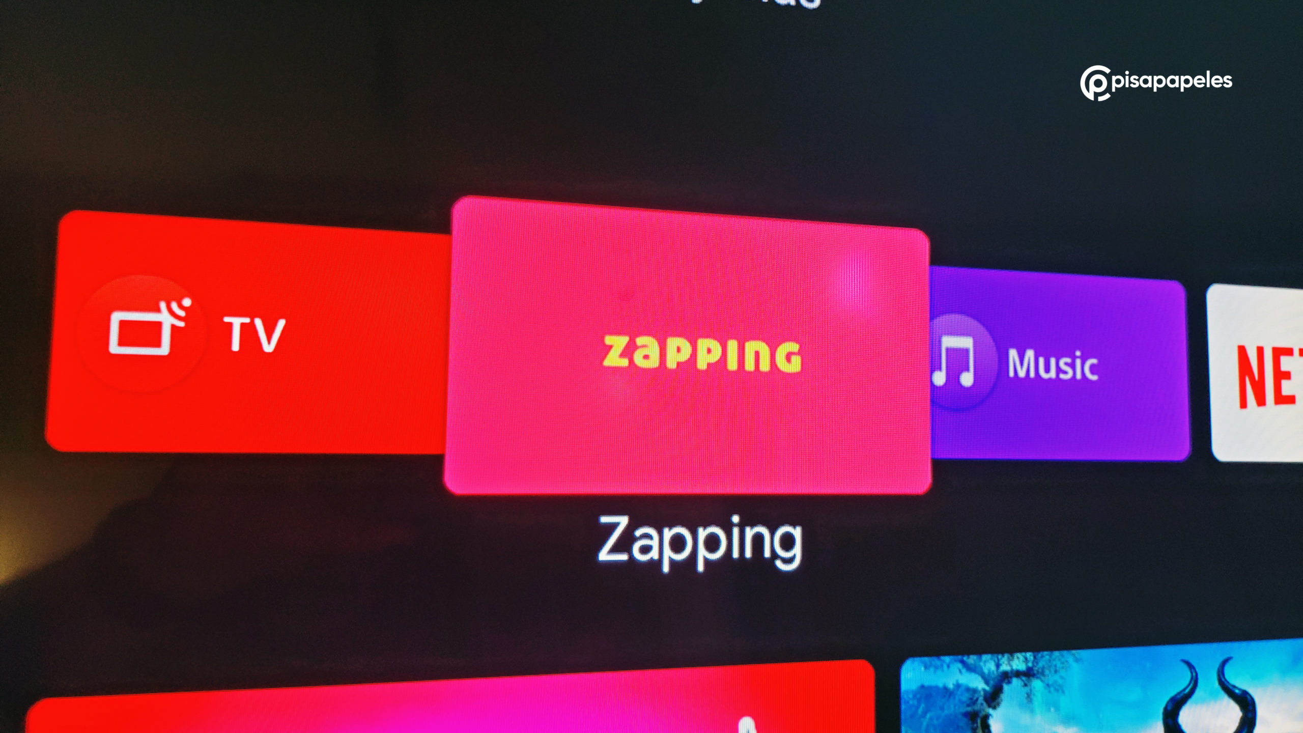 Review Zapping TV corriendo sobre Android TV, Cloud Pocket 365