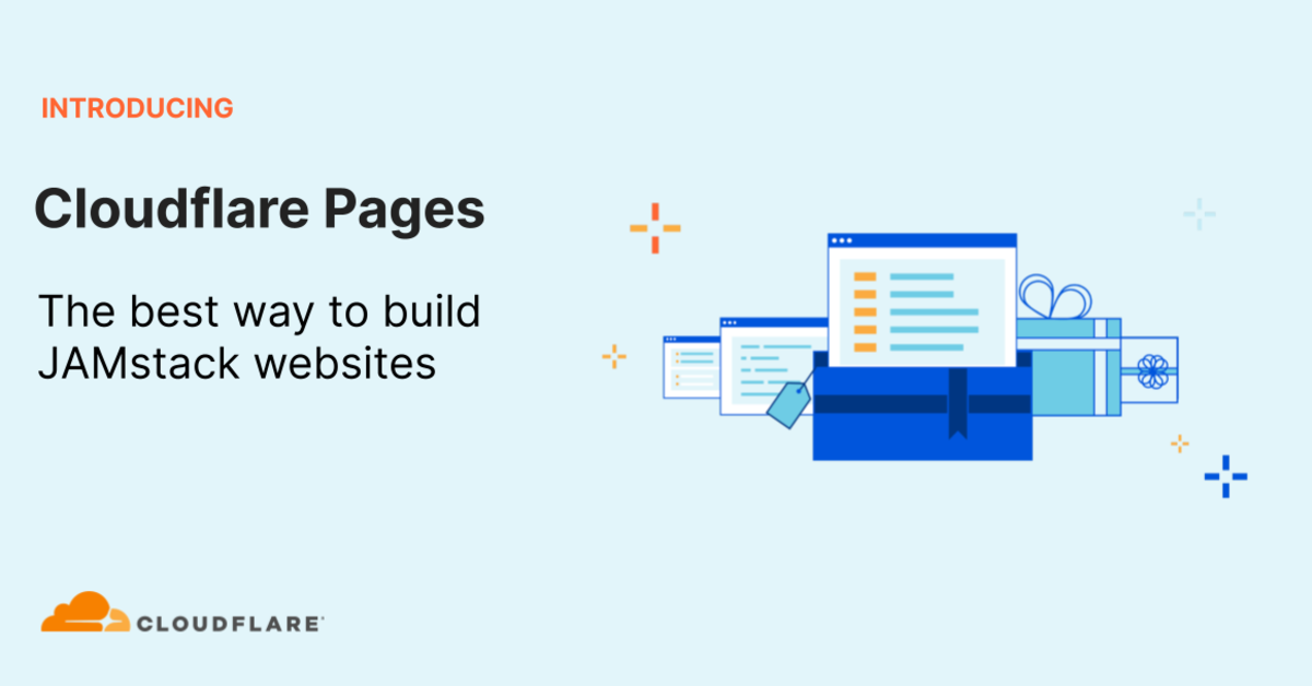 Introducing Cloudflare Pages: the best way to build JAMstack websites, Cloud Pocket 365