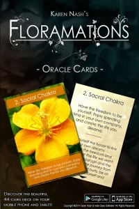 Floramations Oracle Cards Mobile App para iPhone, iPad y Android / Amazon – Indie Goes Software, Cloud Pocket 365
