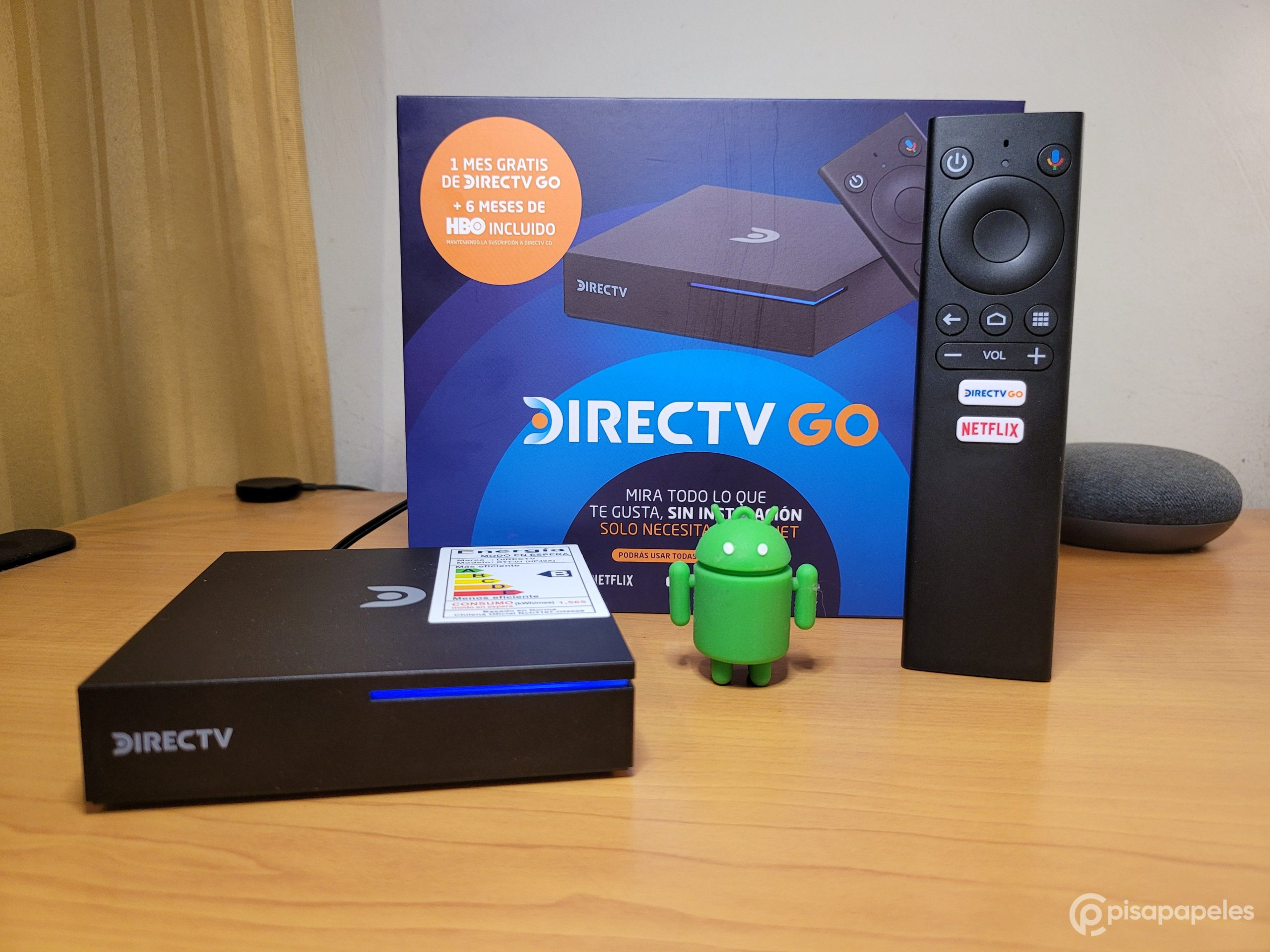 Review DIRECTV GO Box con Android TV, Cloud Pocket 365