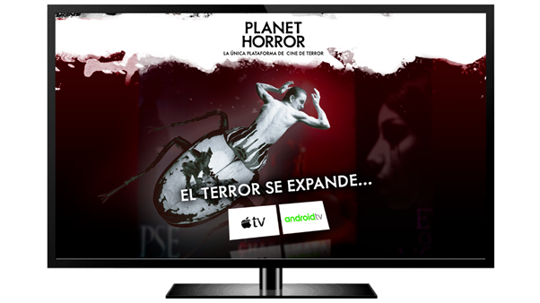 Planet Horror, la única OTT de terror en España, ya disponible en Apple TV y dispositivos con Android TV, Cloud Pocket 365